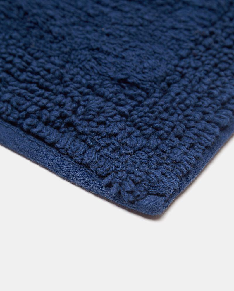 Tappeto bagno in puro cotone tinta unita single tile 1