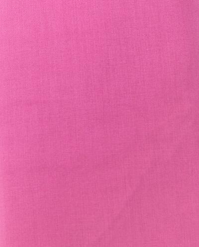 Lenzuolo di puro cotone in tinta unita con angoli