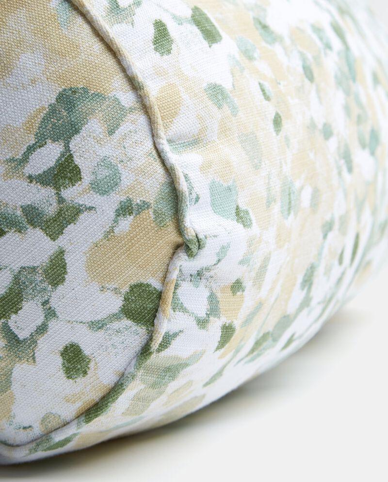 Cuscino bolster con stampa Monet garden