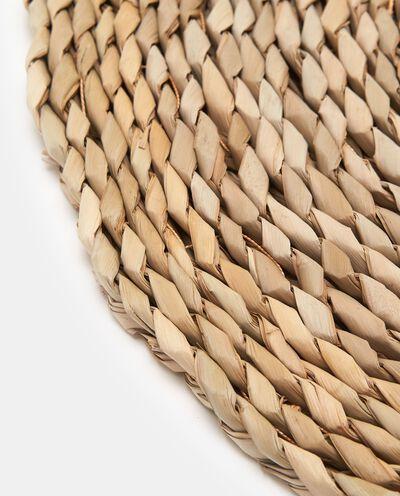 Sottopiatto in fibra naturale intrecciata