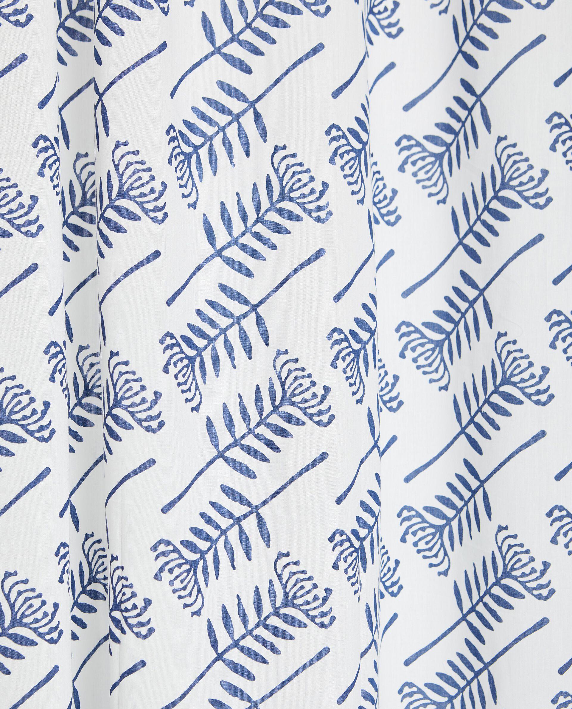 Tenda stampata all over in puro cotone