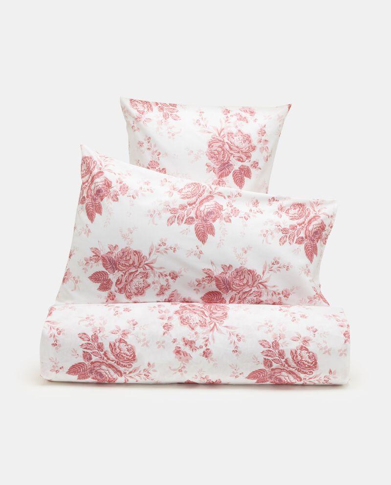 Parure lenzuola in cotone fantasia rose