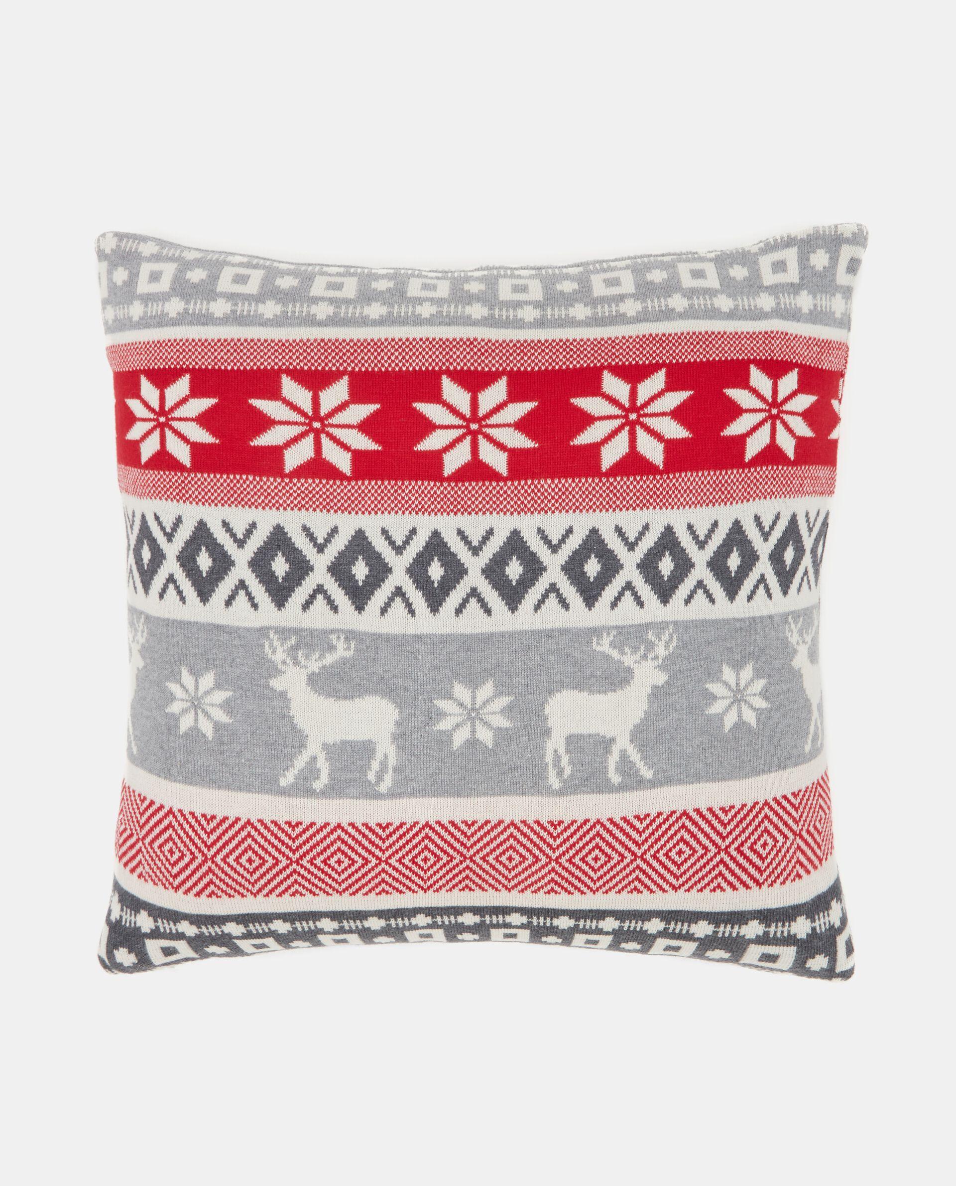 Cuscino con motivo renne