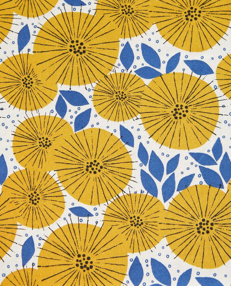 Tovaglia con stampa fiori in puro cotone single tile 1
