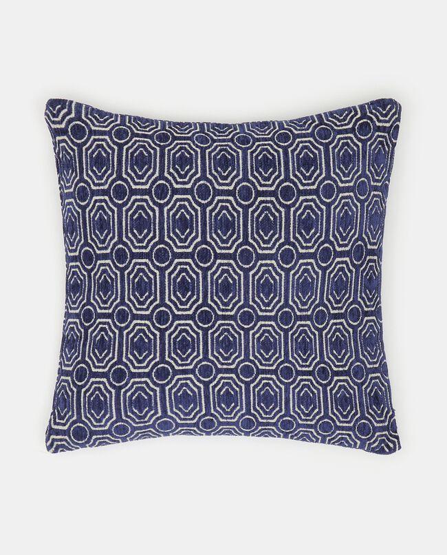 Cuscino con fantasia geometrica
