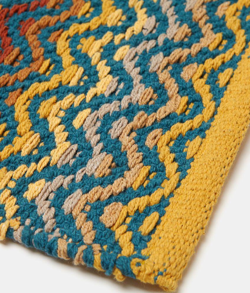 Tappeto in cotone fantasia geometrica