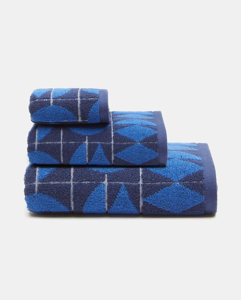 Asciugamano ospite in puro cotone art déco cover