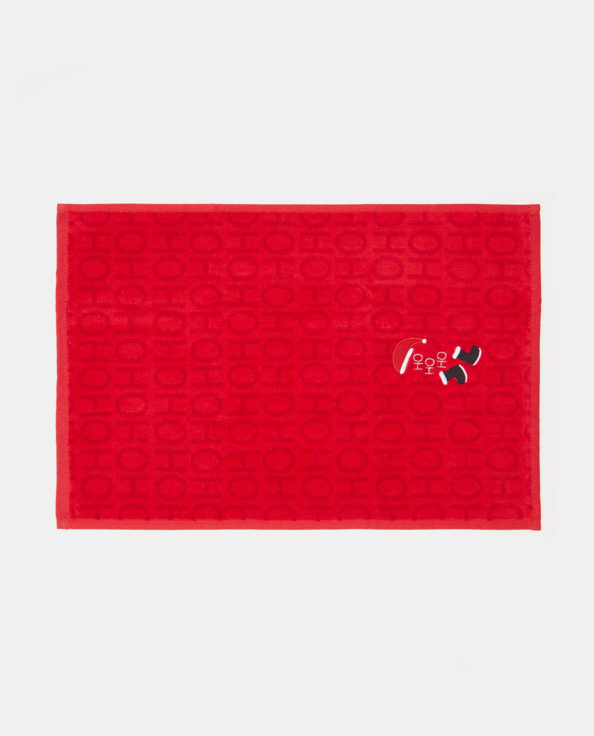 Asciugamano con lettering natale