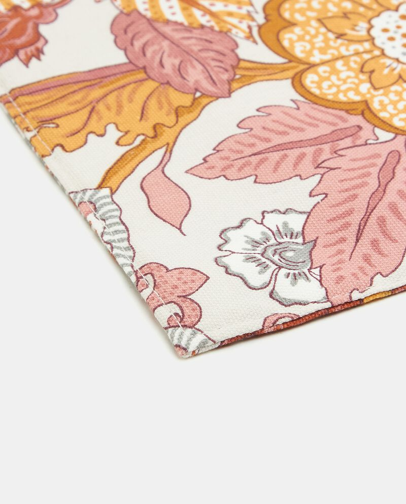 Tovaglietta floreale in puro cotone