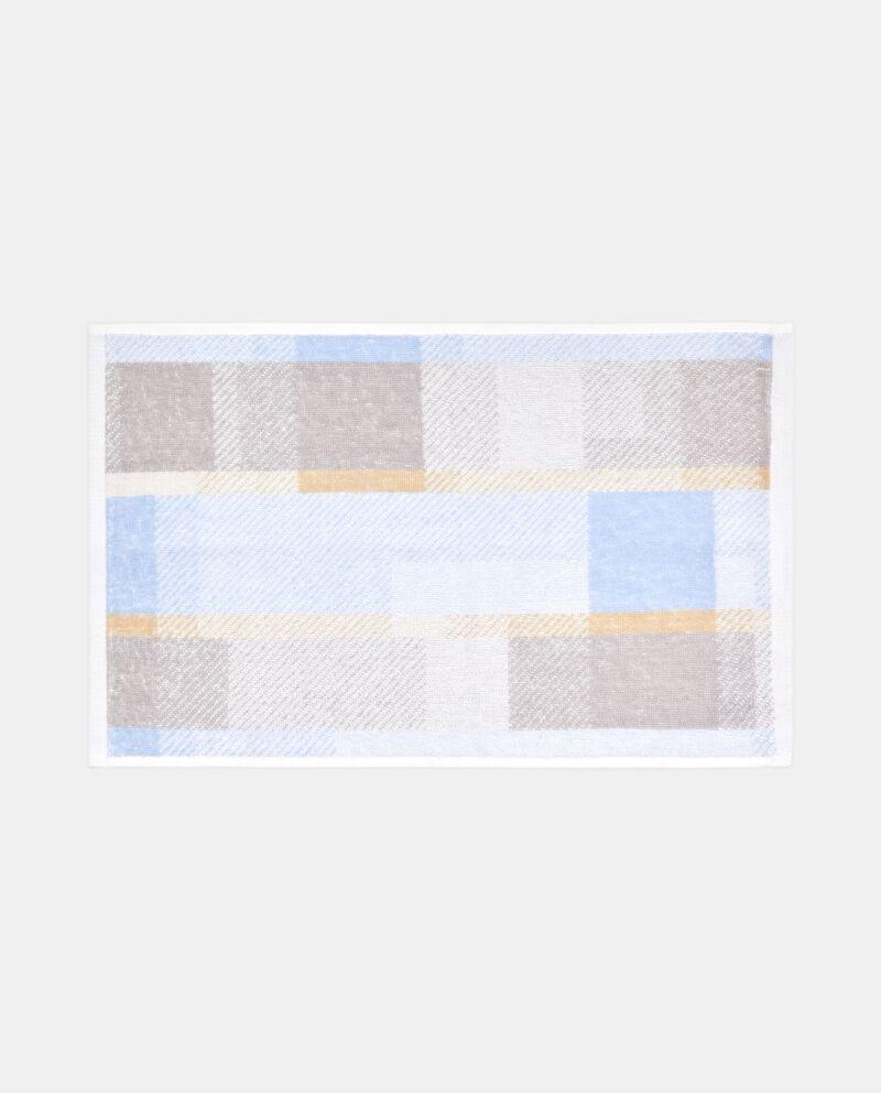 Asciugamano in fantasia a quadri