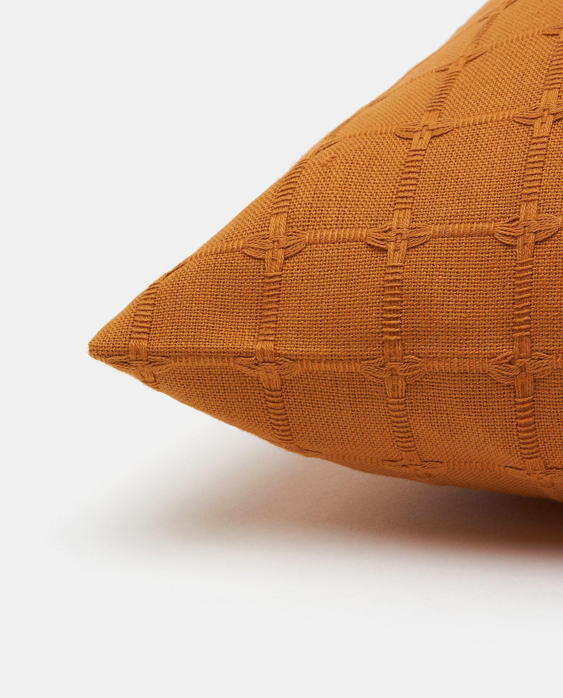 Fodere copricuscino impunturate in tinta unita puro cotone