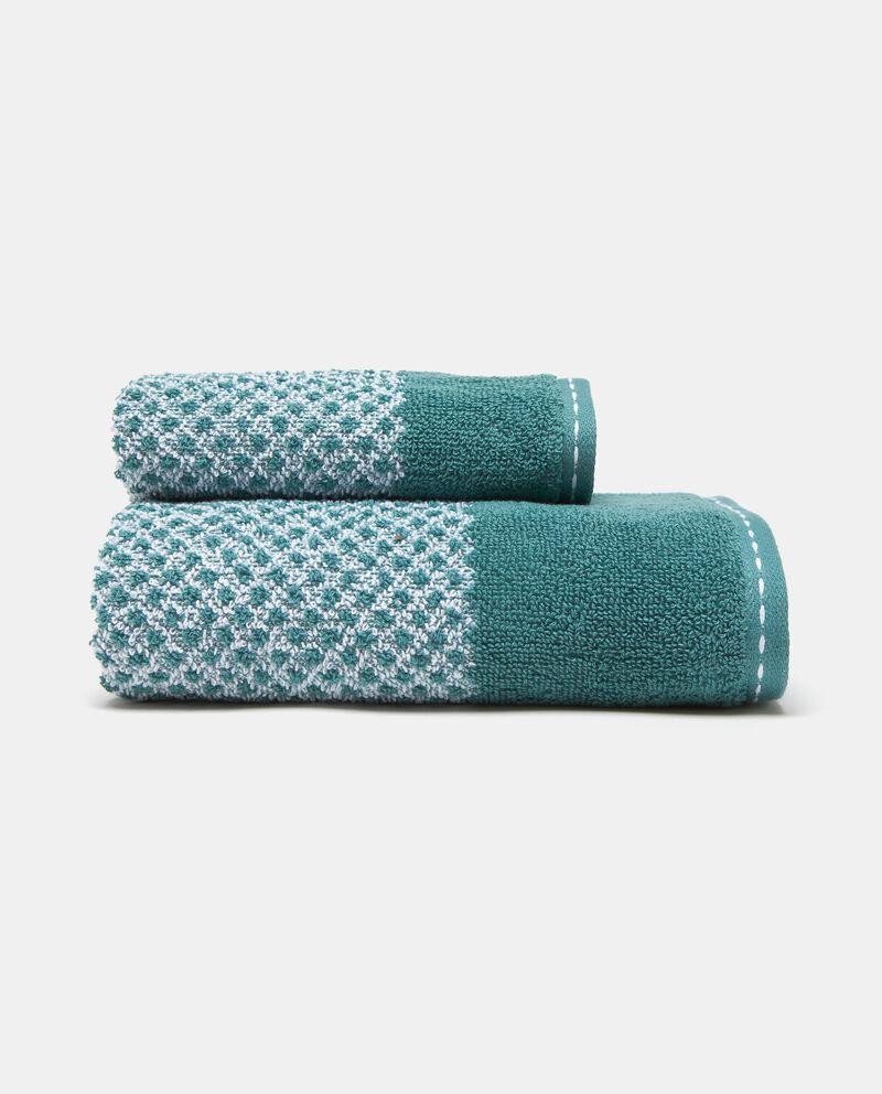 Asciugamano cotone fantasia pop corn
