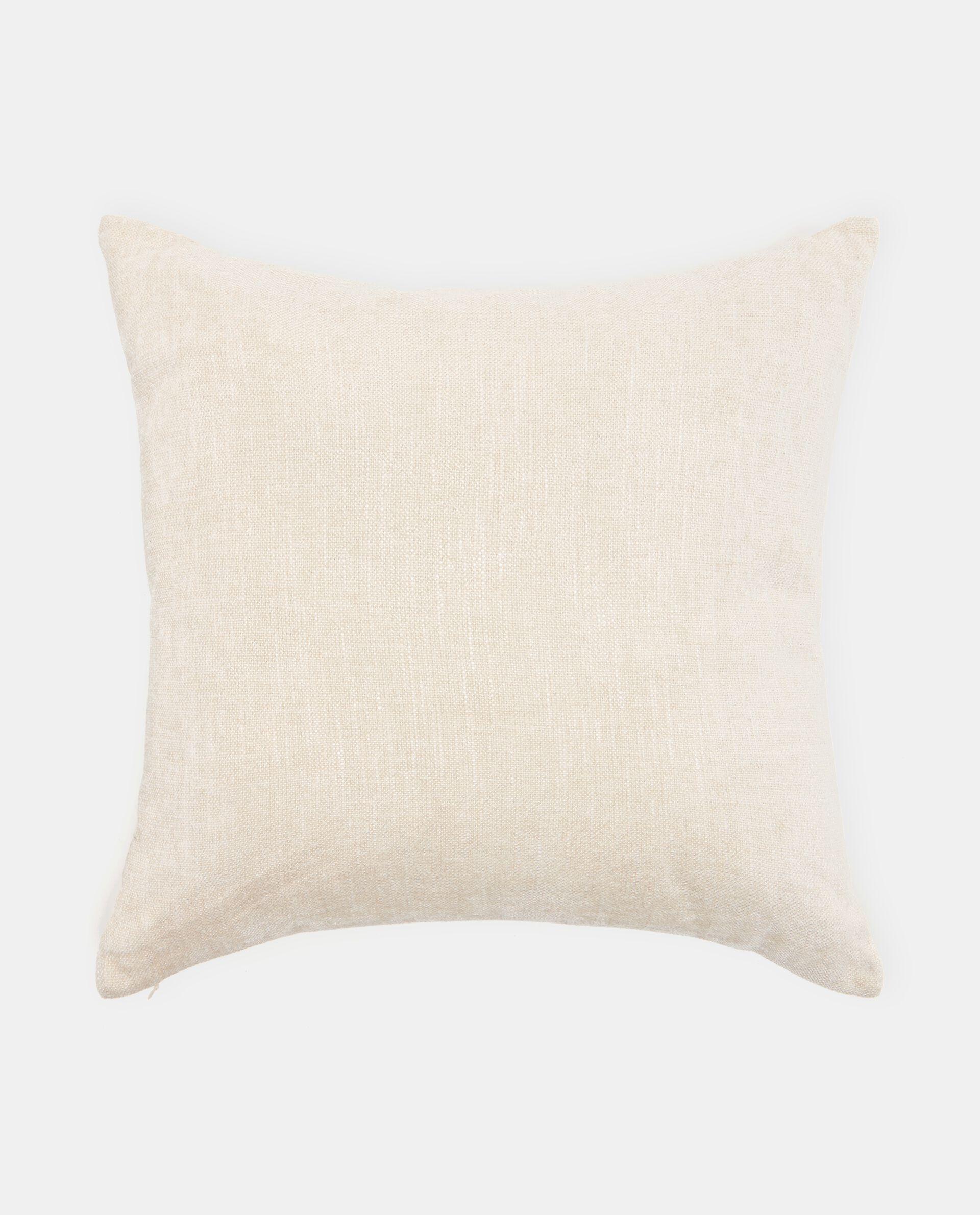 Cuscino con effetto mélange