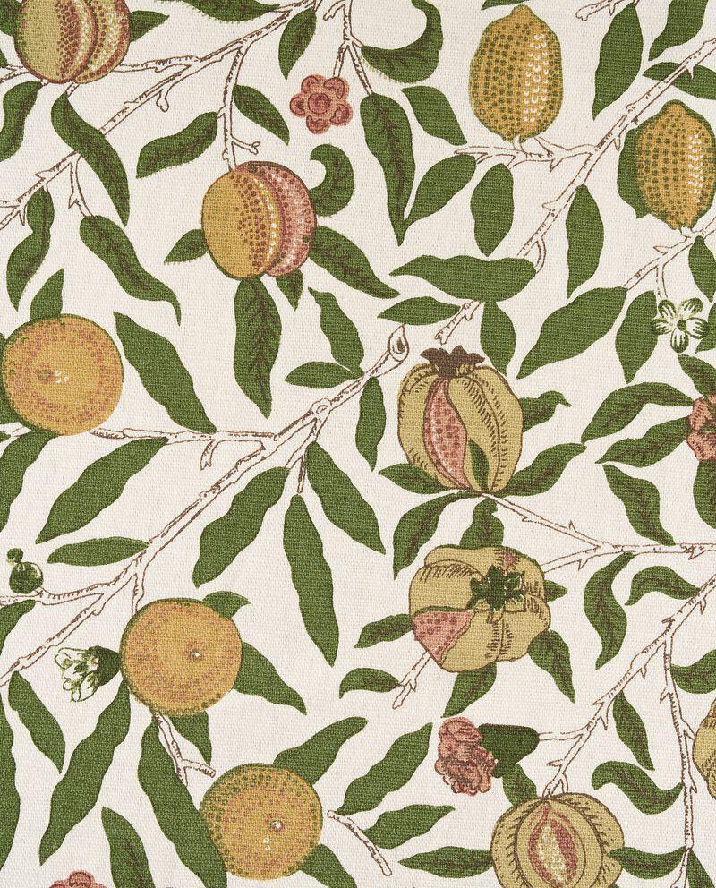 Tovaglia con stampa frutta in puro cotone single tile 1