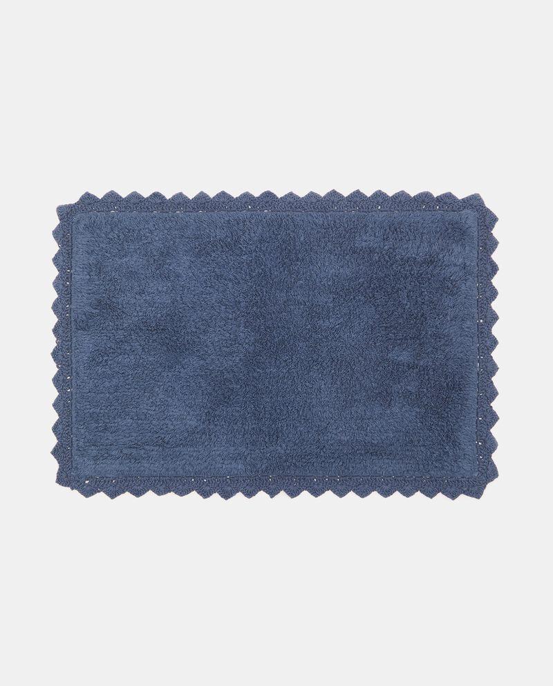Tappeto bagno lace in puro cotone cover