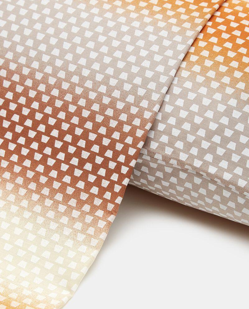 Lenzuolo con stampa floreale in puro cotone single tile 1