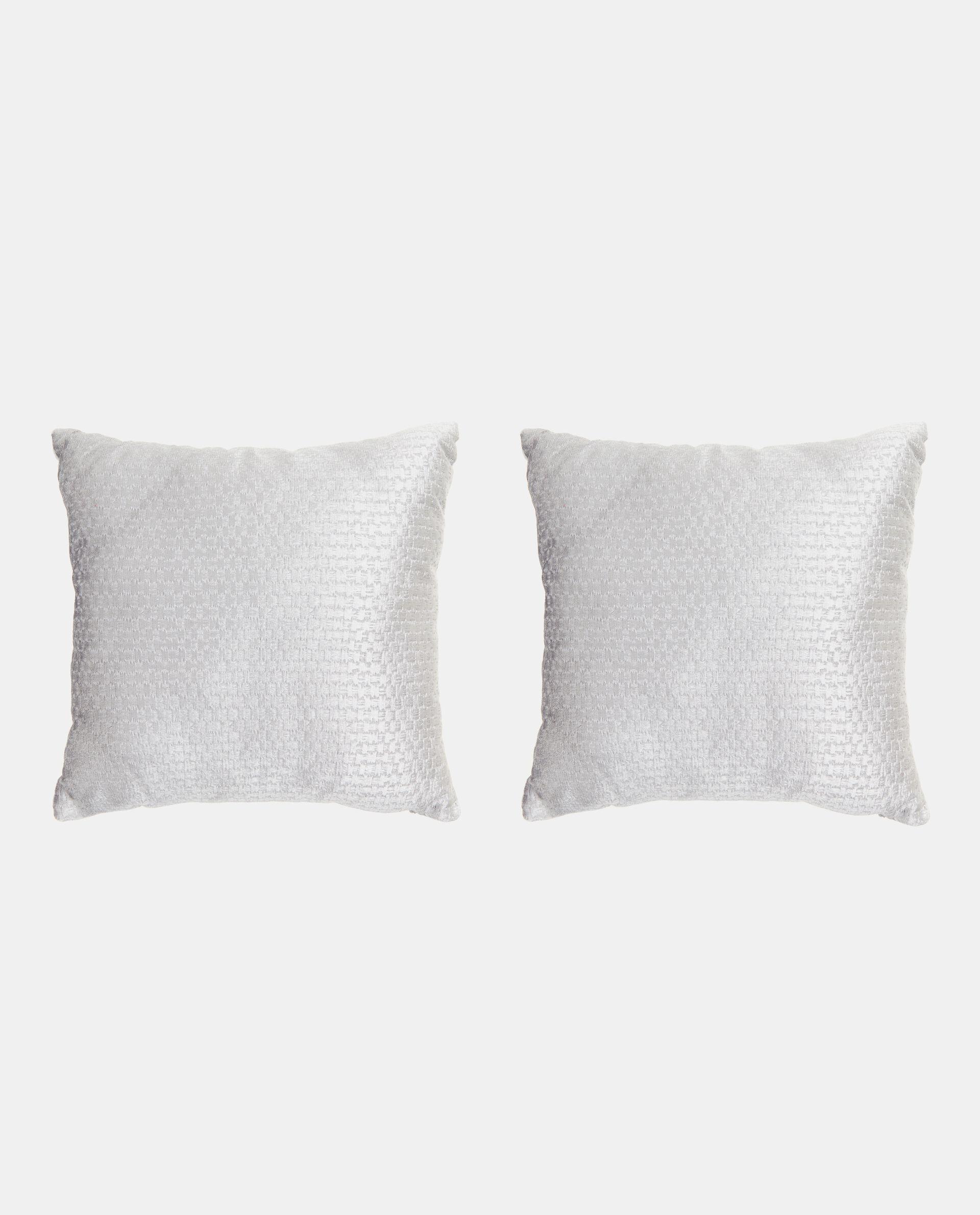 Set cuscini tinta unita