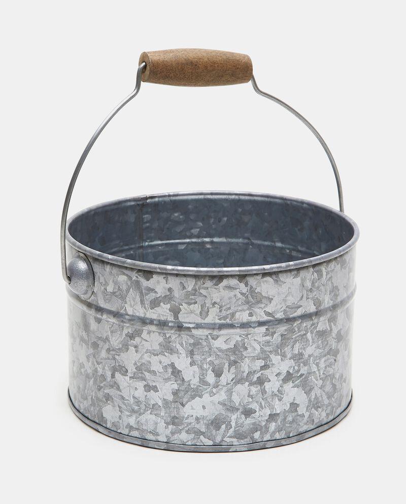 Vaso di latta in ferro