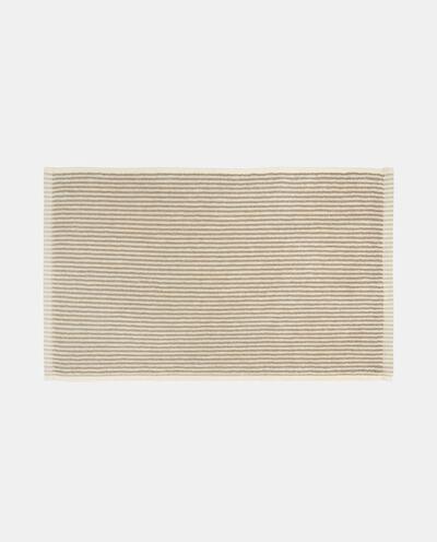 Asciugamano puro cotone con righine