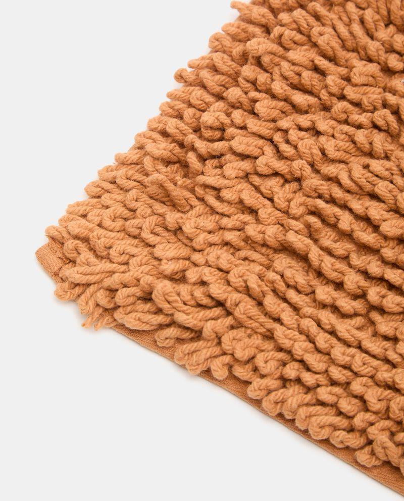 Tappeto bagno shaggy in puro cotone single tile 1