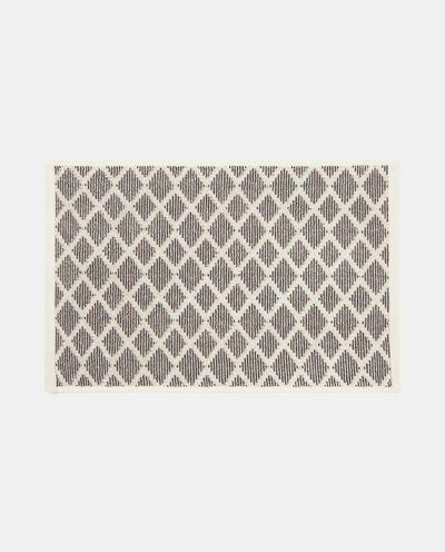 Asciugamano in cotone geometrico