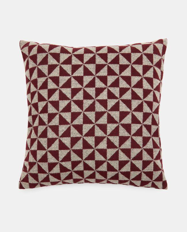Cuscino wool con stampa geometrica carousel 0