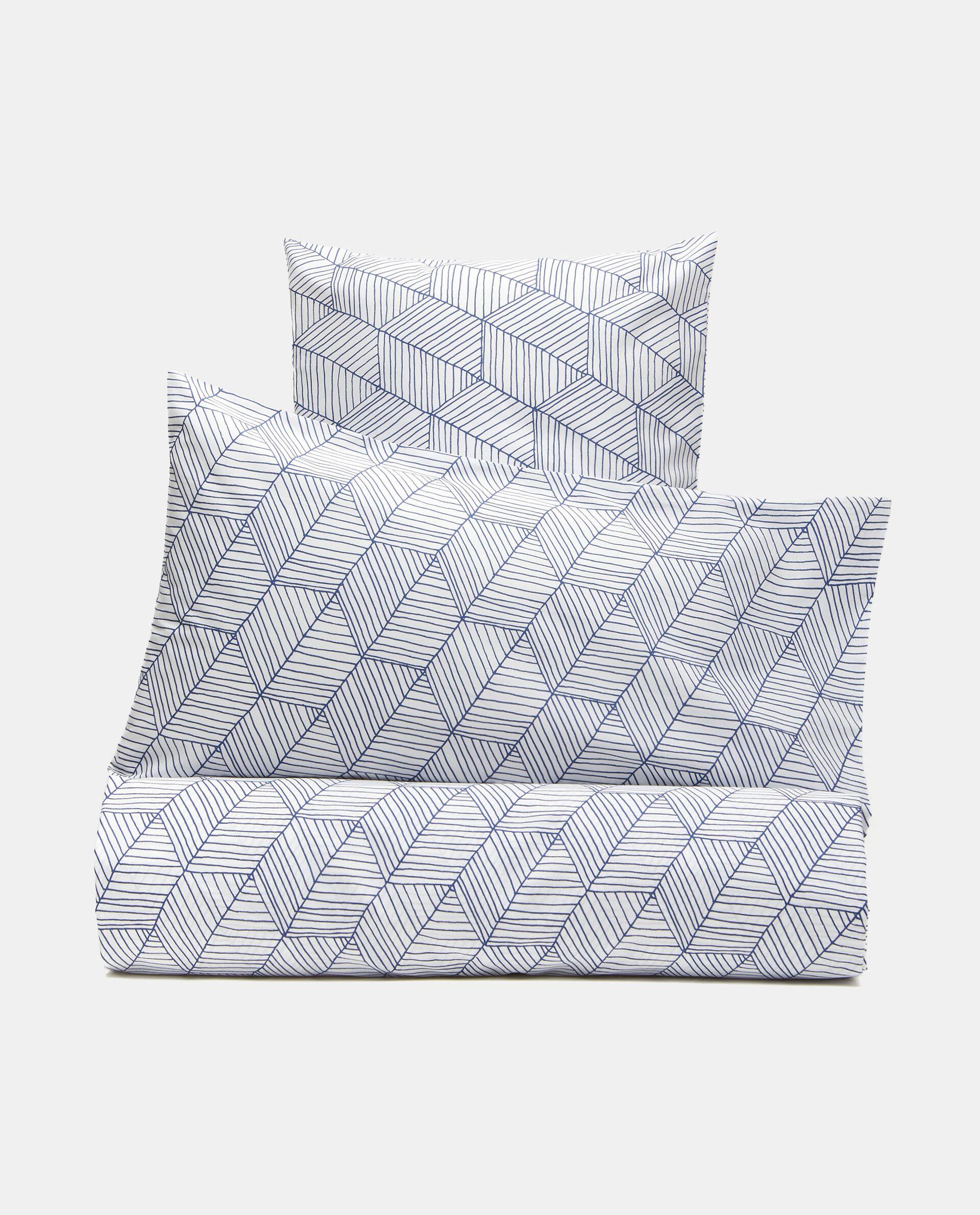 Parure lenzuolo stampato di puro cotone
