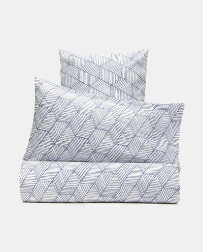 Parure lenzuolo stampato di puro cotone detail 2