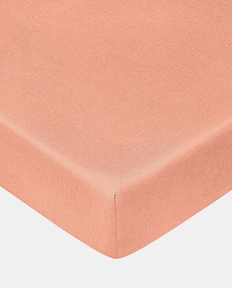 Lenzuolo con angoli tinta unita in puro cotone cover