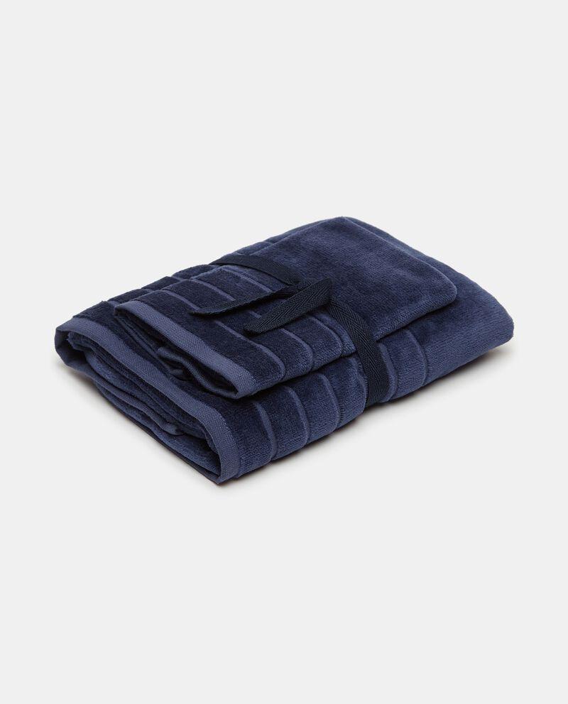 Set asciugamano ospite e mani velour cover