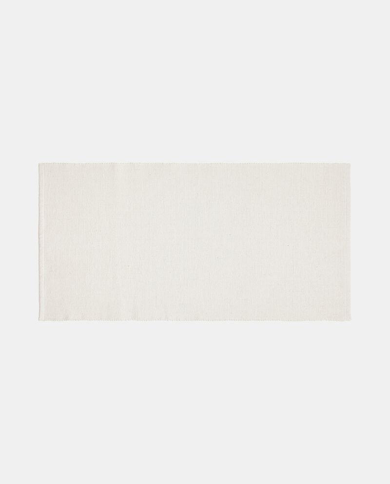 Tappeto tinta unita di puro cotone cover