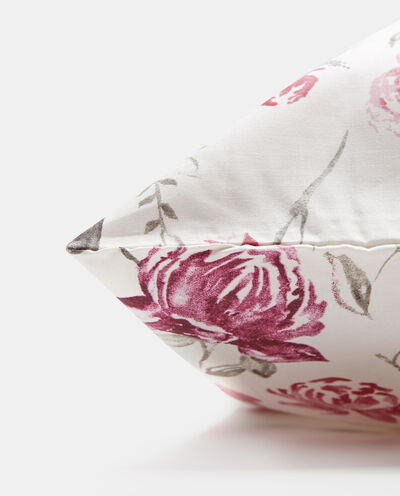 Federa puro cotone stampa fiori all-over