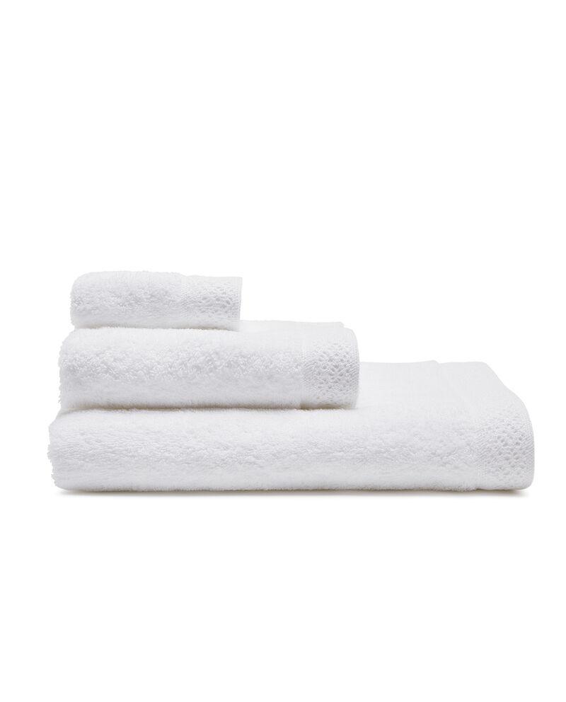 Asciugamano ospite con lavorazione