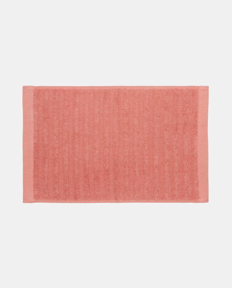 Asciugamano ospite tinta unita in puro cotone