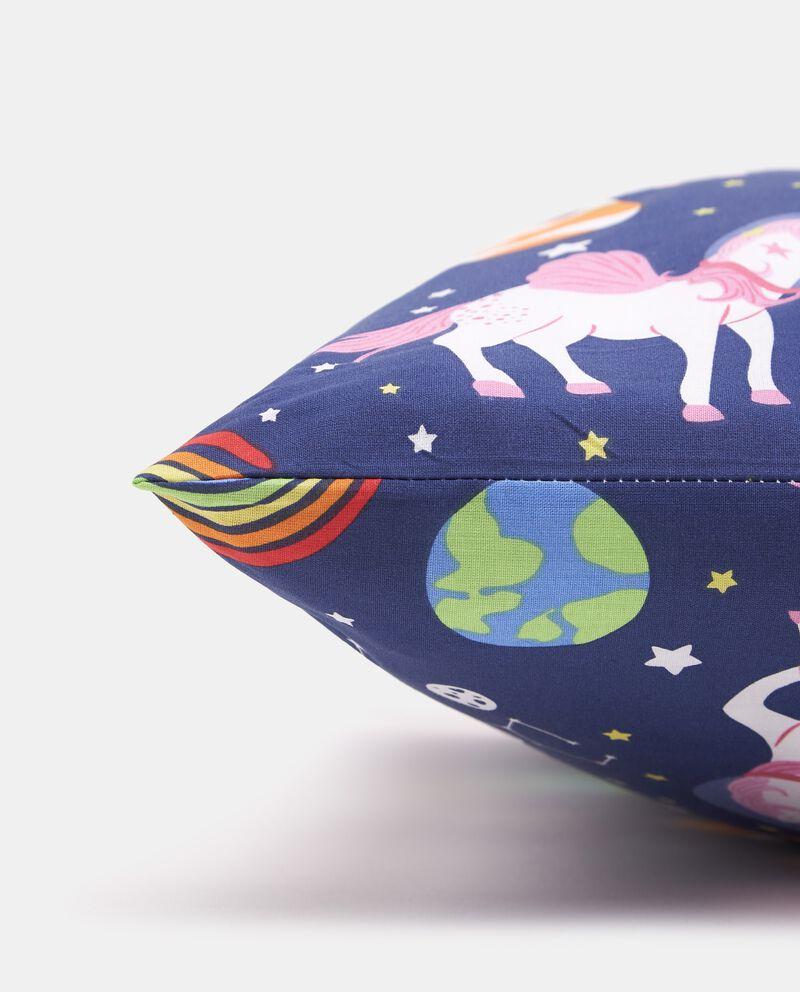 Federa puro cotone con fantasia unicorni