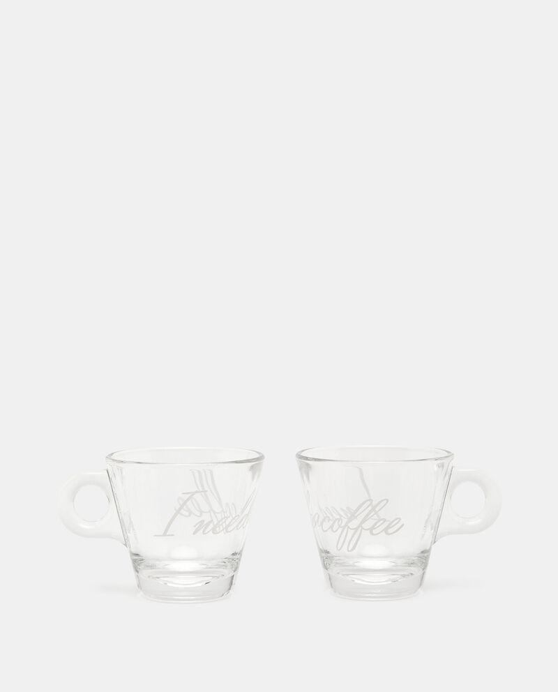 Set con 2 tazzine da caffè in vetro cover
