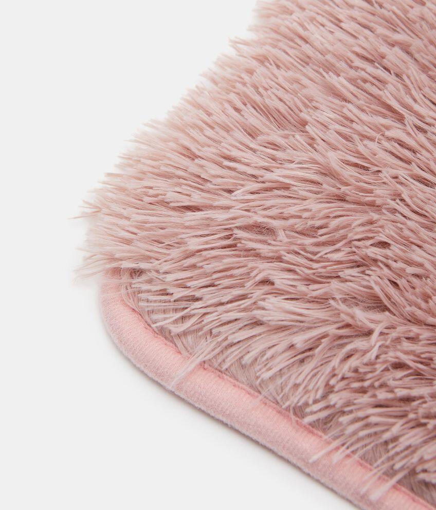 Tappeto bagno in pelo