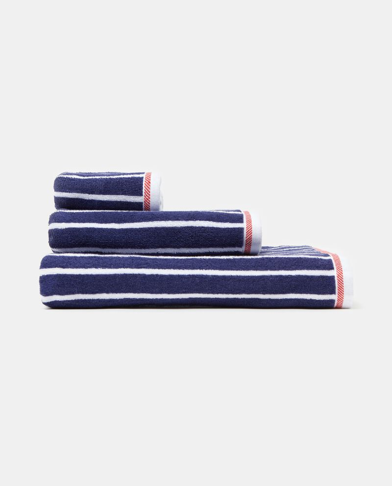 Set tre asciugamani puro cotone a righe