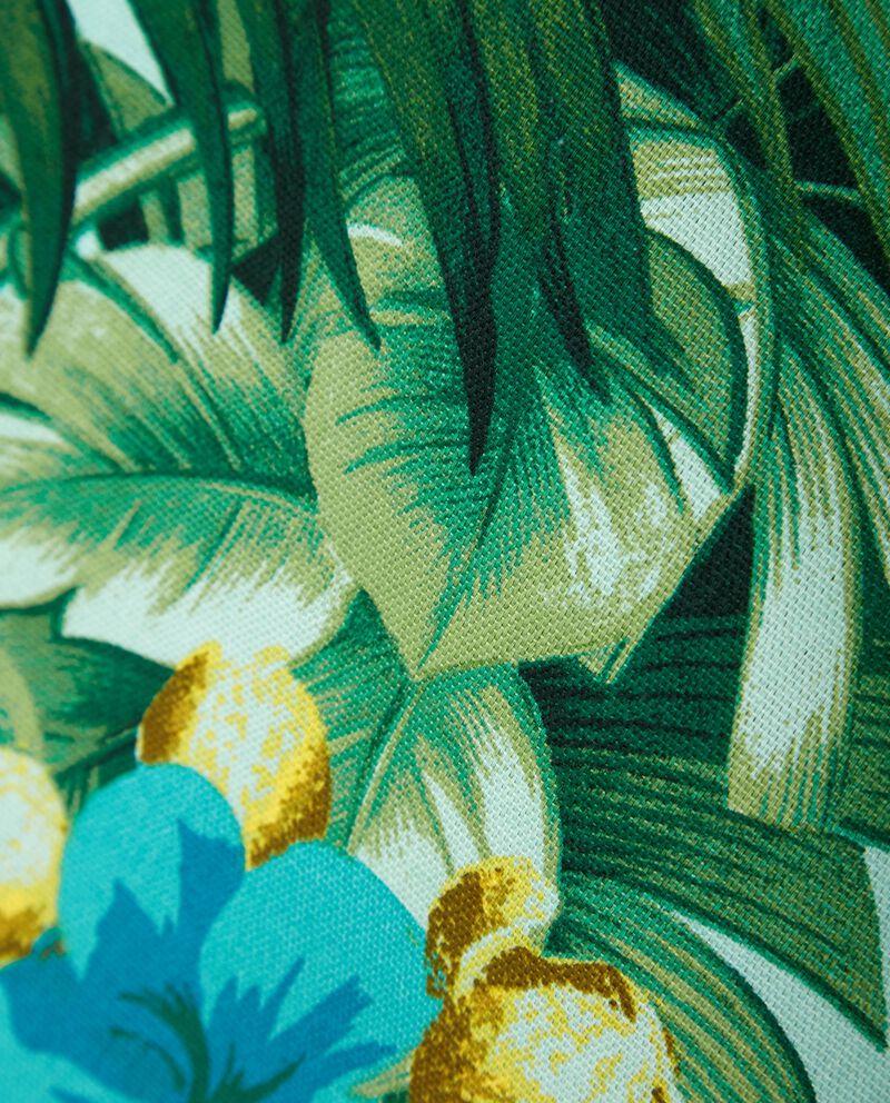Strofinaccio in cotone fantasia floreale