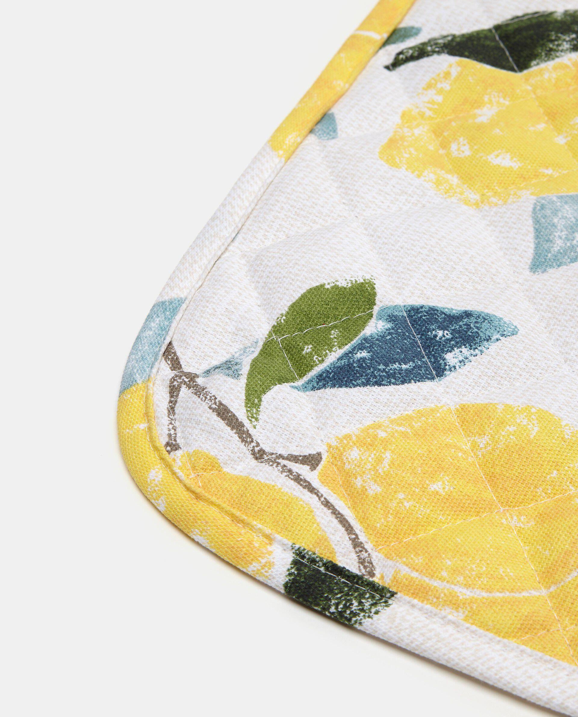 Tovaglietta trapuntata fantasia limoni
