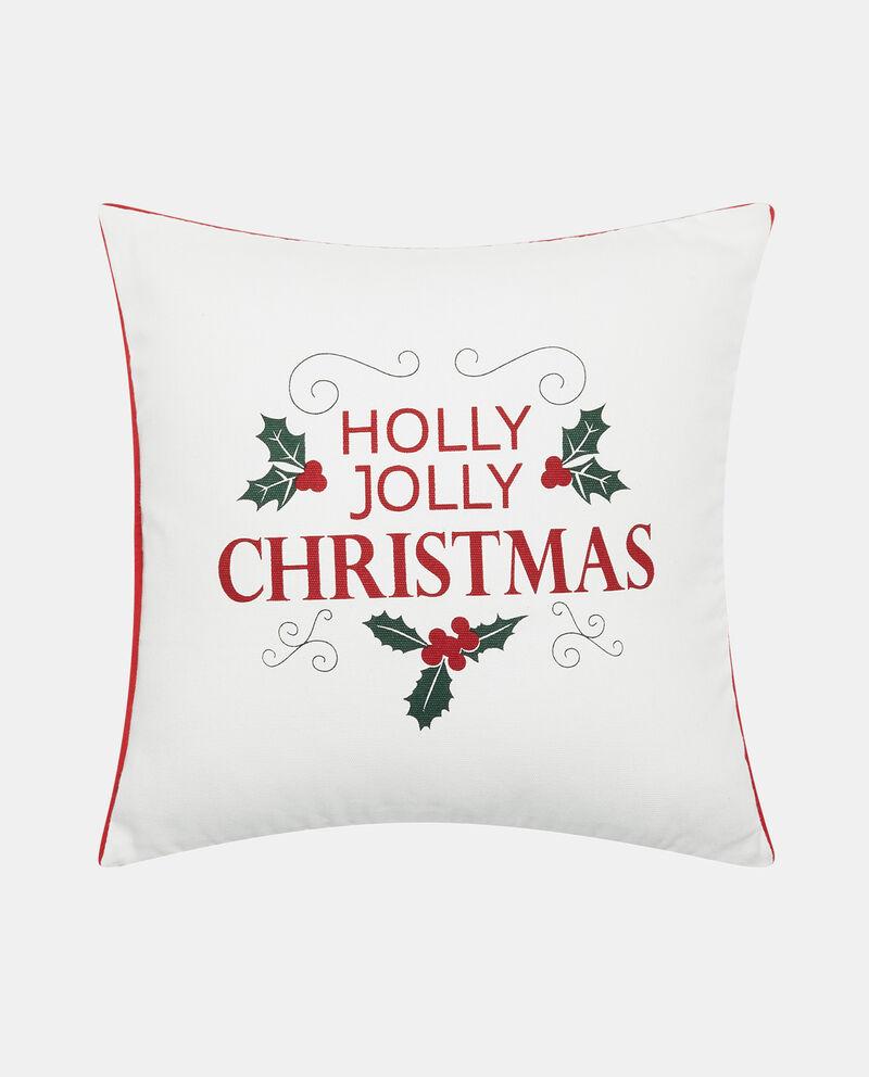 Cuscino quadrato stampa natalizia