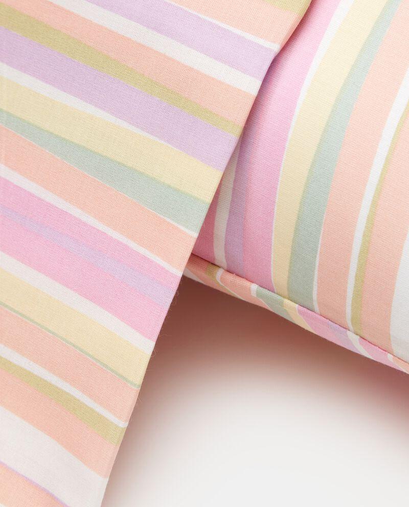 Parure lenzuolo a righe in puro cotone