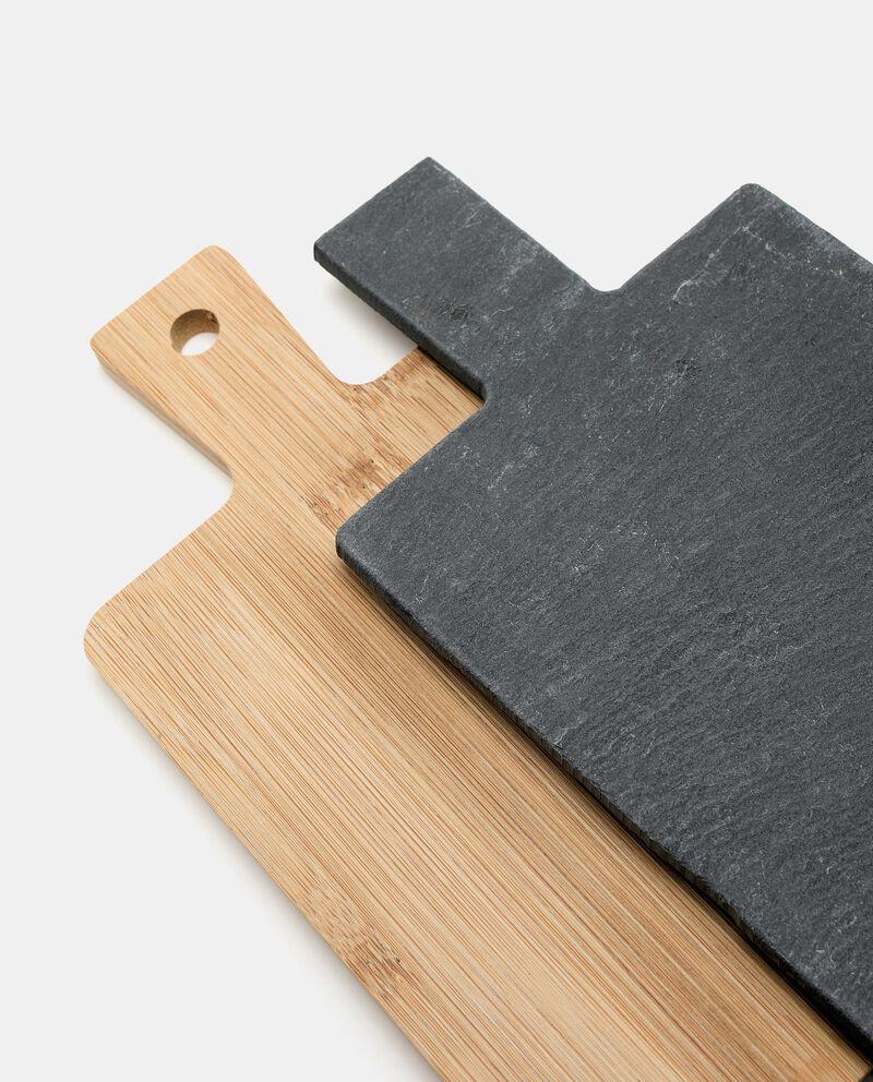 Set 2 taglieri in ardesia e legno single tile 2