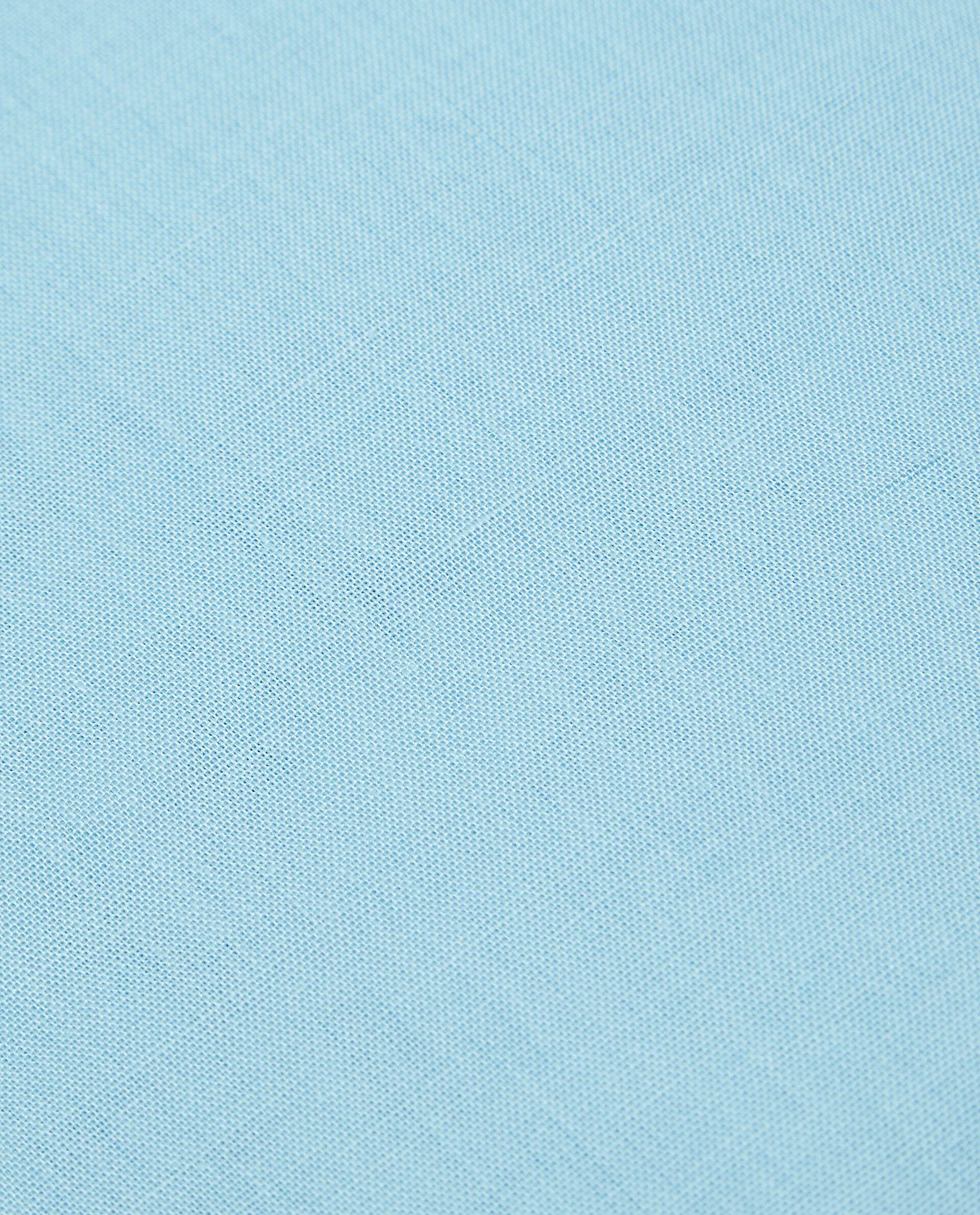 Lenzuolo con angoli in puro cotone tinta unita