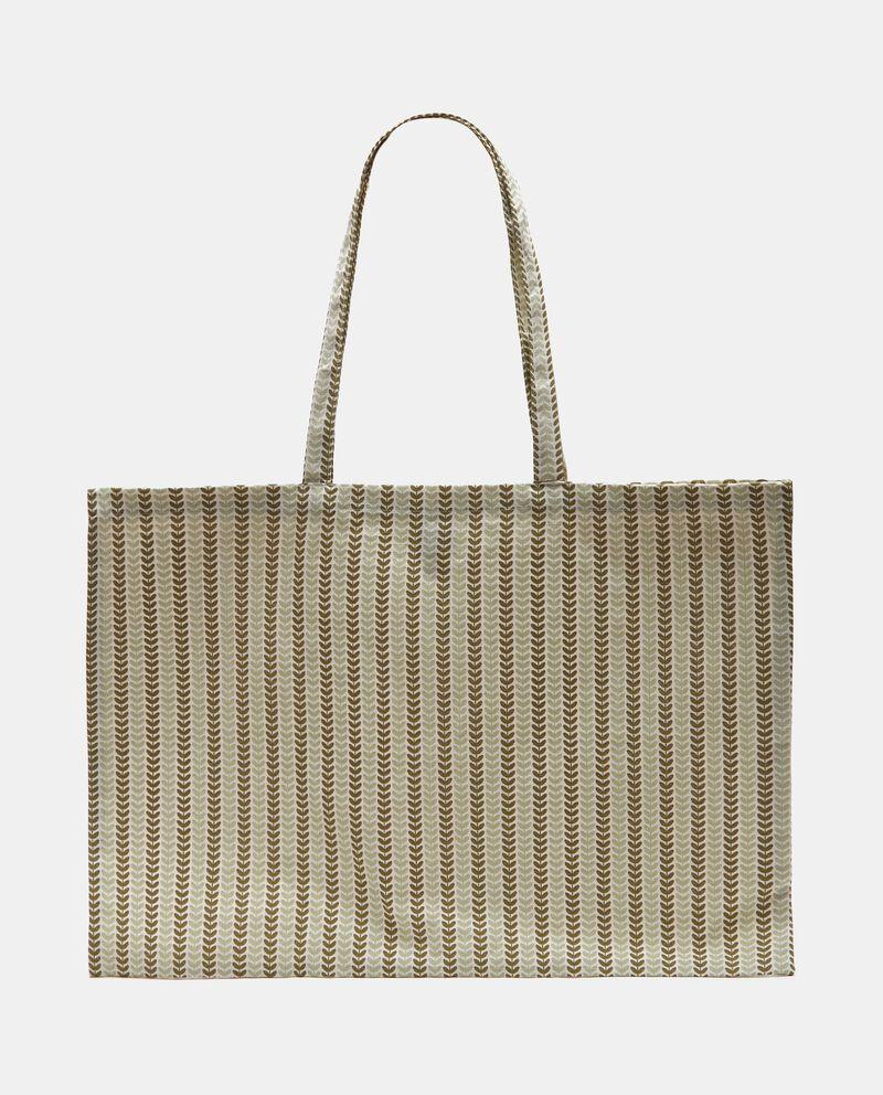 Bio shopping bag stampata in puro cotone