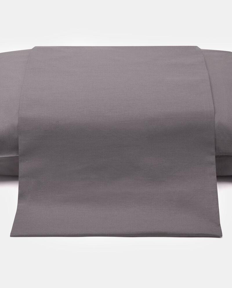 Copripiumino in puro cotone tinta unita