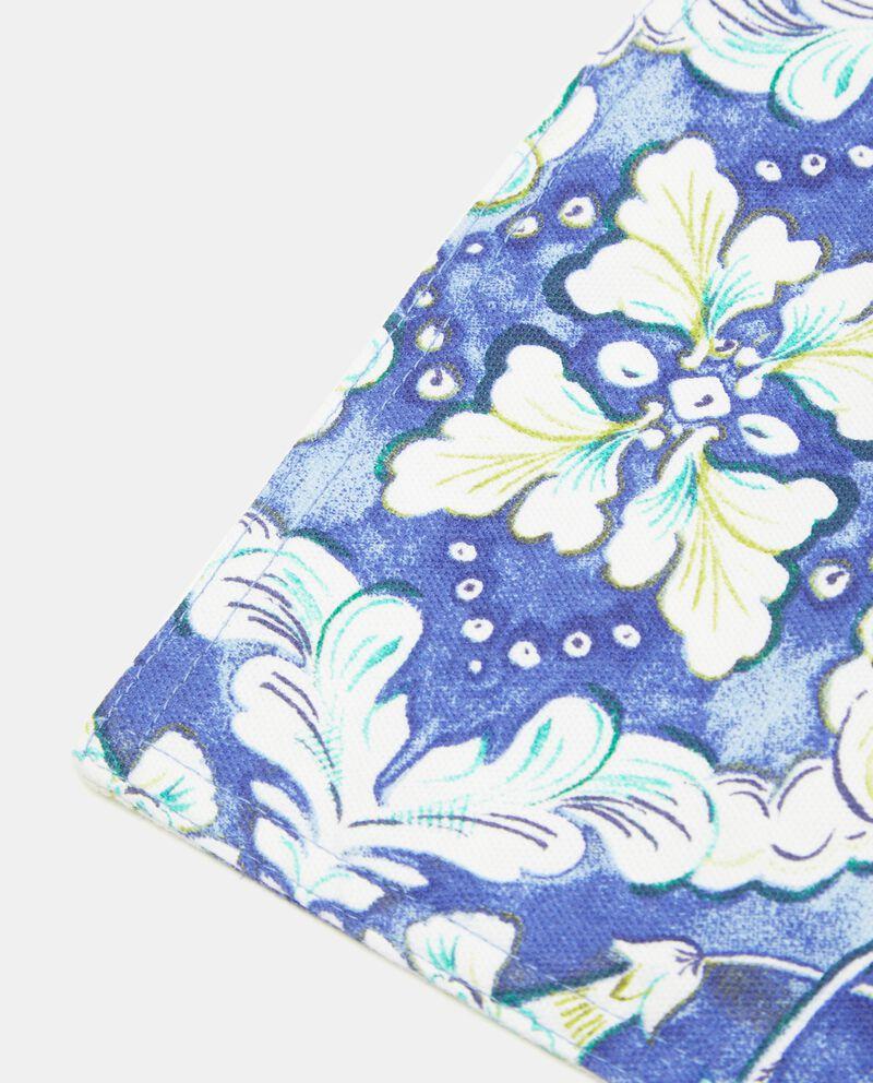 Tovaglietta puro cotone con fantasia floreale