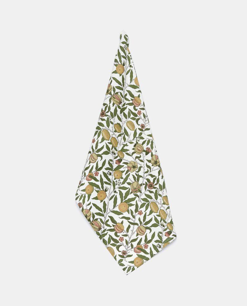 Strofinaccio con stampa frutta in puro cotone cover