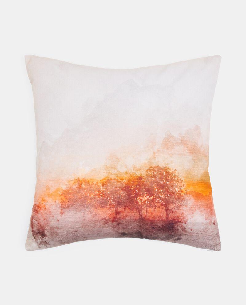 Cuscino con stampa alberi