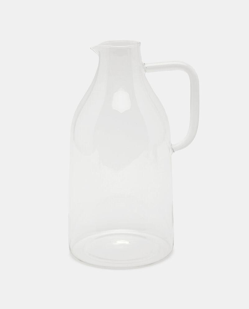 Caraffa in vetro trasparente cover